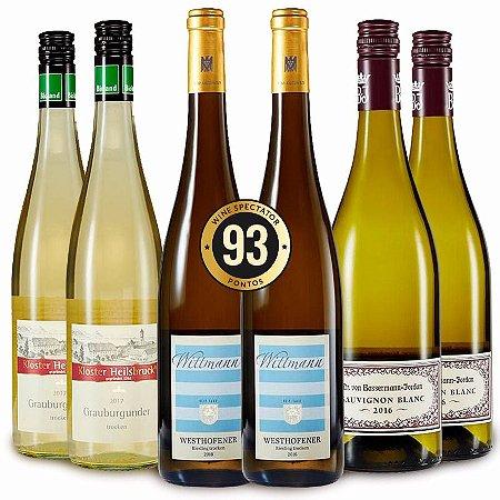 Kit Verão: Brancos esplêndidos  - 6 garrafas