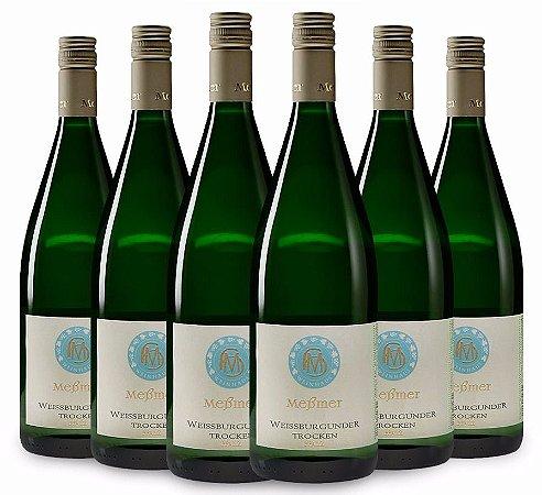 Vinhos Biodinâmicos  Messmer Pinot Blanc seco 2016 - Kit com 6 garrafas