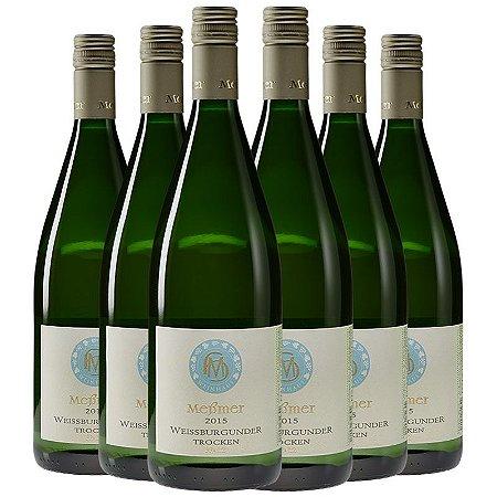 Kit Pinot Blanc Biodinâmico de litro - 6 garrafas