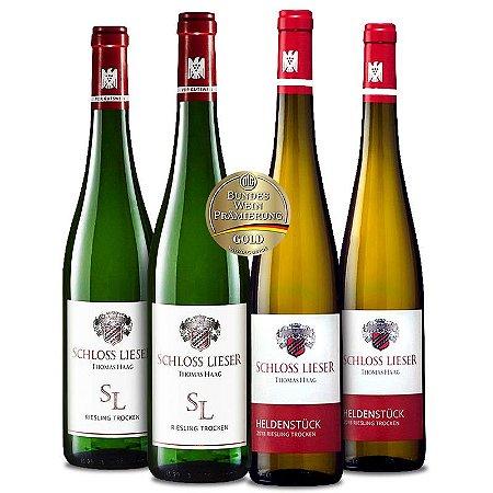 Kit Premiados VDP: Schloss Lieser (4 garrafas)