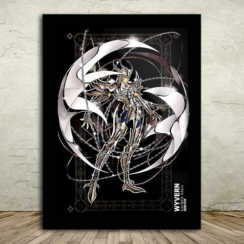 Poster com Moldura - Radamanthys de Wyvern