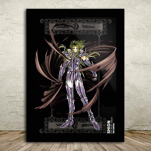 Poster com Moldura - Shion de Áries