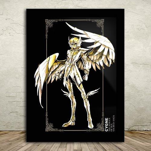 Poster com Moldura - Hyoga de Cisne