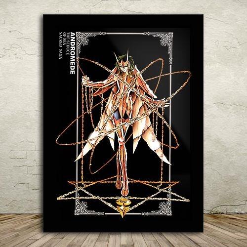 Poster com Moldura - Shun de Andrômeda