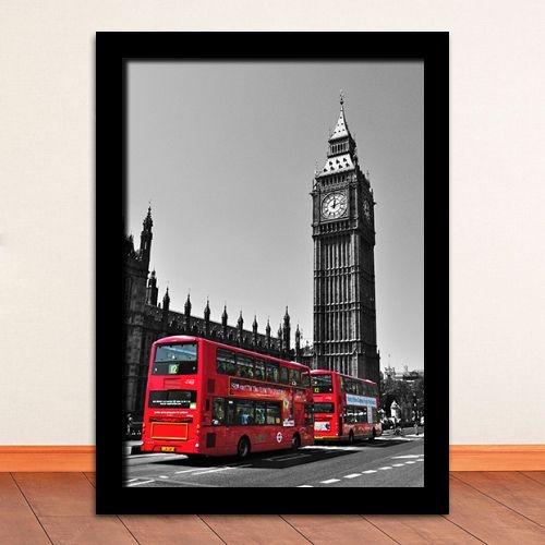 """Quadro - Londres """"Big Ben"""""""