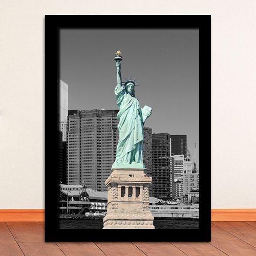 """Quadro - New York """"Estátua da Liberdade"""""""