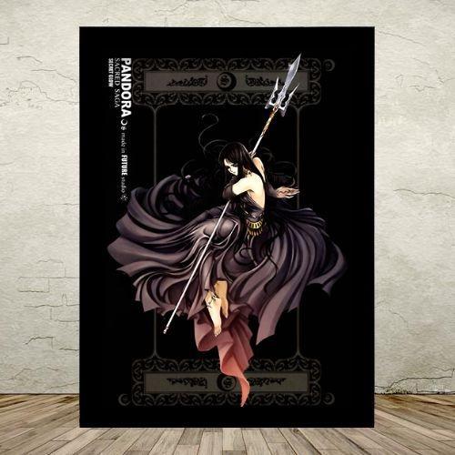 Poster com Moldura - Pandora