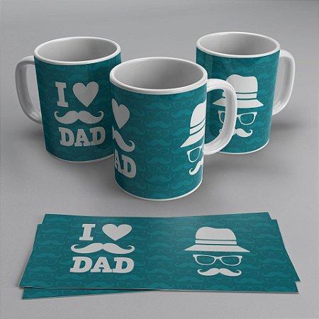 Caneca Dia dos Pais - I love Dad