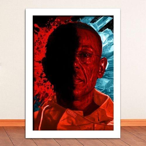 Poster com Moldura - Breaking Bad Gus Fring