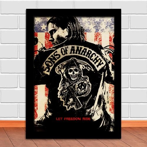 Poster com Moldura - Sons Of Anarchy