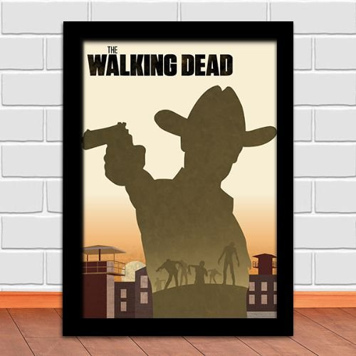 Poster com Moldura - The Walking Dead M.03
