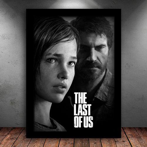 Poster com Moldura - The Last Of Us