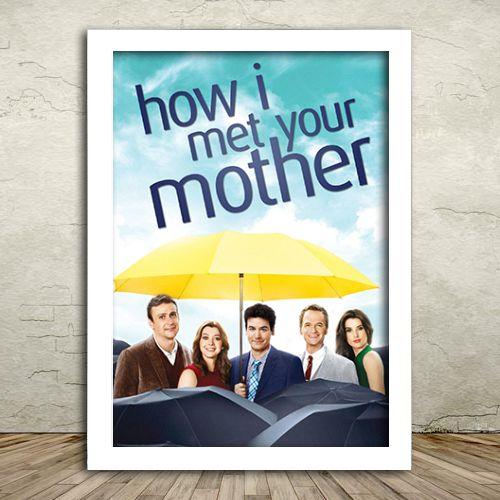 Poster com Moldura - How I Met Your Mother