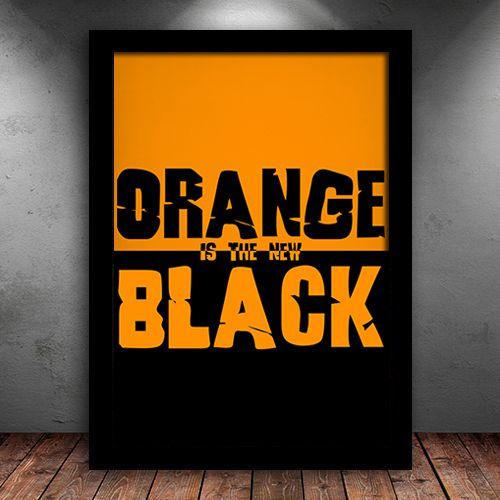 Poster com Moldura - Orange Is The New Black