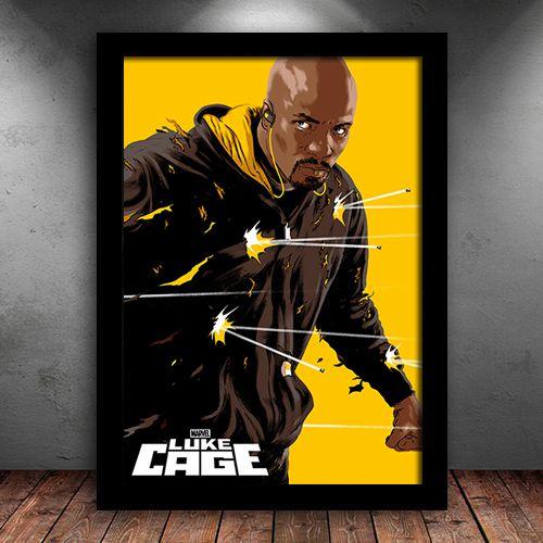 Poster com Moldura - Luke Cage