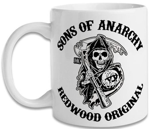 Caneca Geek Série Sons Of Anarchy