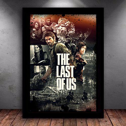 Poster com Moldura - The Last Of Us M.02