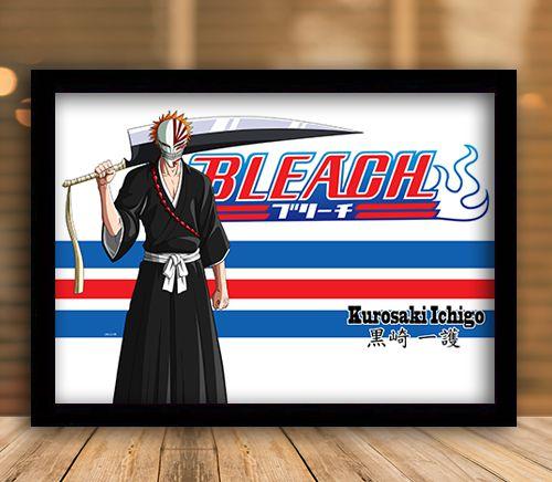 Poster com Moldura - Bleach Mo.02