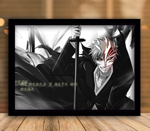 Poster com Moldura - Ichigo Hollow Mask Mo.2