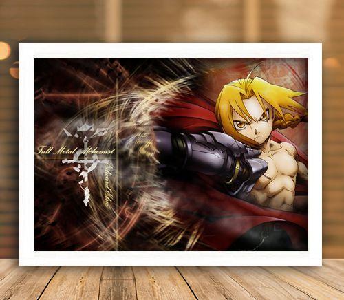 Poster com Moldura - Fullmetal Alchemist Mo. 5