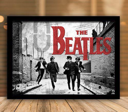 Poster com Moldura - The Beatles