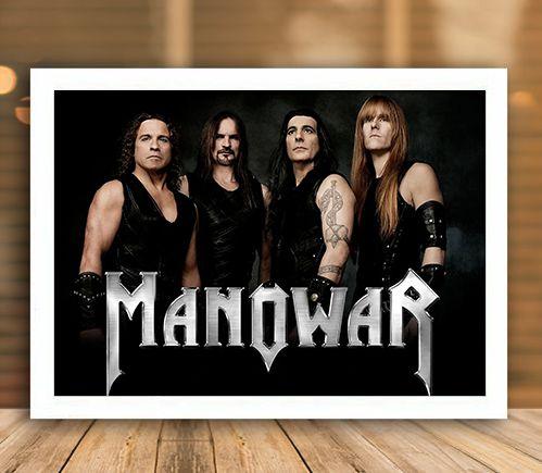Poster com Moldura - Manowar