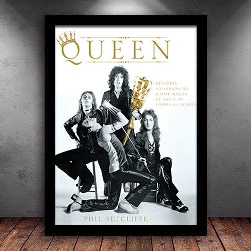 Poster com Moldura - Queen