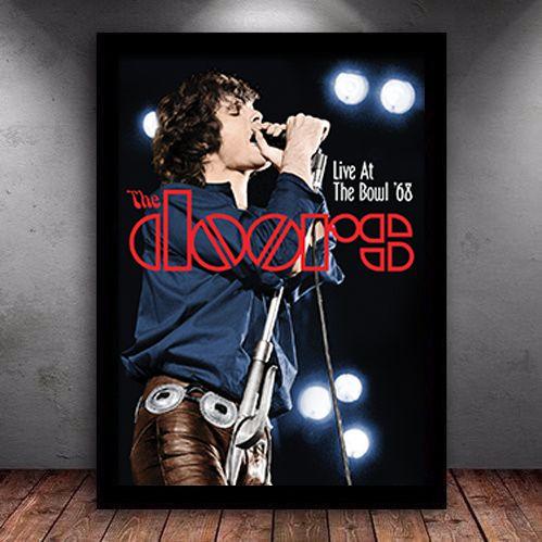 Poster com Moldura - The Doors