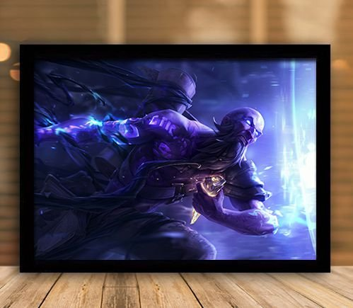 Poster com Moldura - League of Legends LoL Ryze