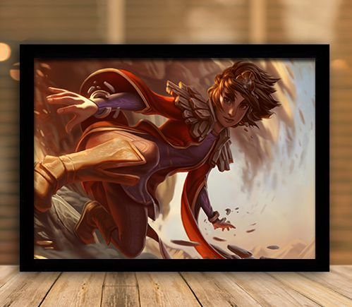 Poster com Moldura - League of Legends LoL Taliyah