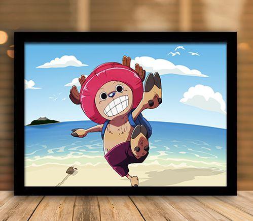 Poster com Moldura - One Piece   Mo.02
