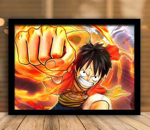 Poster com Moldura - One Piece   Mo.03