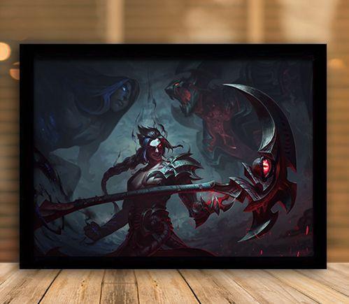 Poster com Moldura - League of Legends LoL Kayn