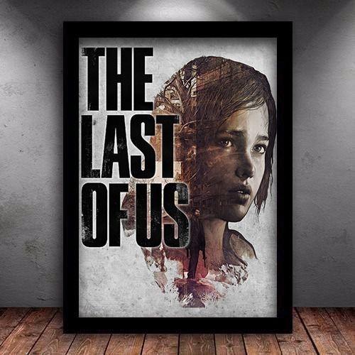 Poster com Moldura - The Last Of Us M.03