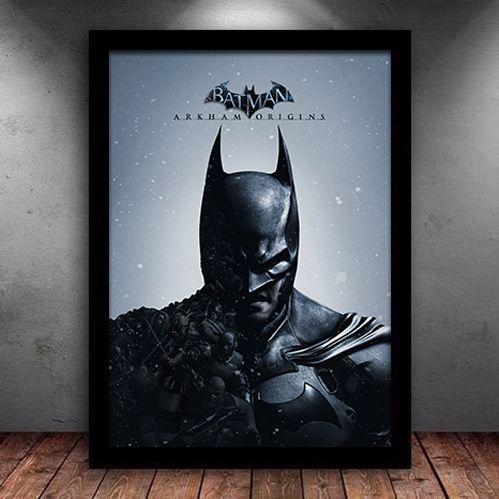 Poster com Moldura - Batman Arkham Origins