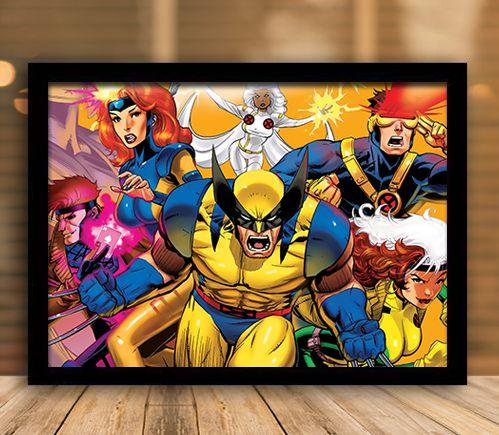 Poster com Moldura - X-Men Classic