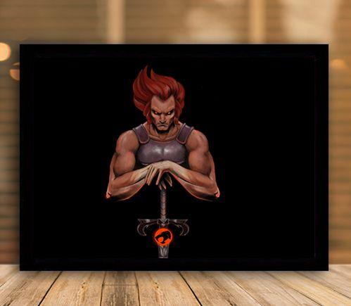 Poster com Moldura - Lion-o Thundercats