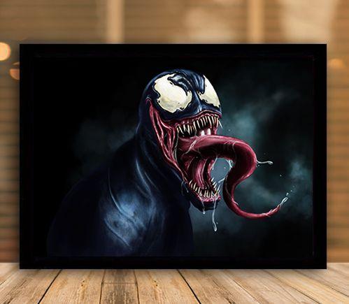 Poster com Moldura - Venom The Simbionte