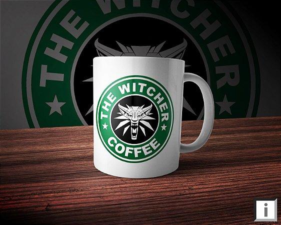 Caneca Linha Coffee - The Witcher