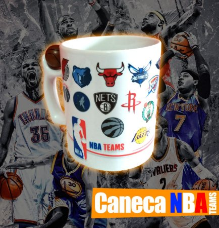 Caneca NBA Teams