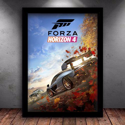 Poster com Moldura - Forza Horizon 4 Mo.2