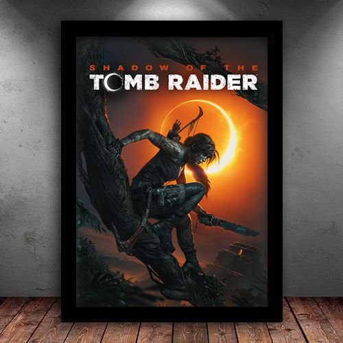 Poster com Moldura - Shadow Of Tomb Raider
