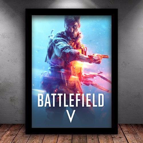 Poster com Moldura - Battlefield 5