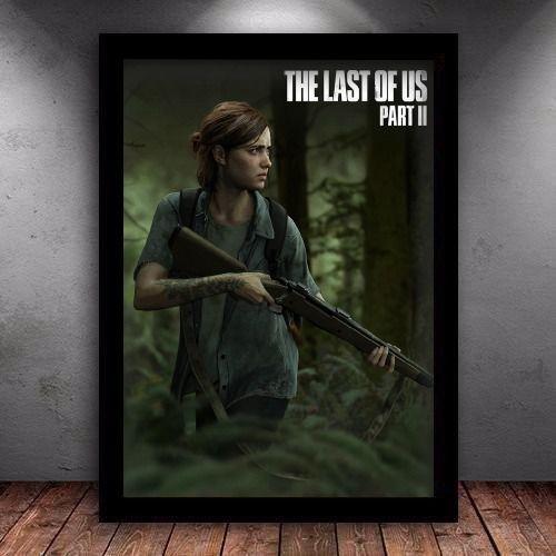 Poster com Moldura - The Last Of Us Part 2