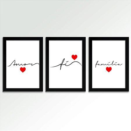 Trio Quadros - Amor Fé e Família
