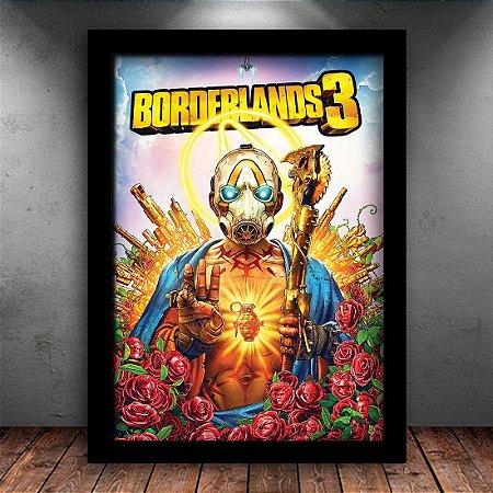Poster com Moldura - Borderlands 3
