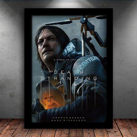 Poster com Moldura - Death Stranding Mo. 3