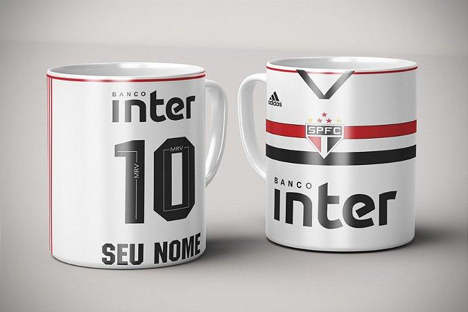 Caneca Personalizada - Time São Paulo