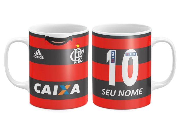 Caneca Personalizada - Time Flamengo