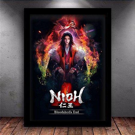 Poster com Moldura - Nioh